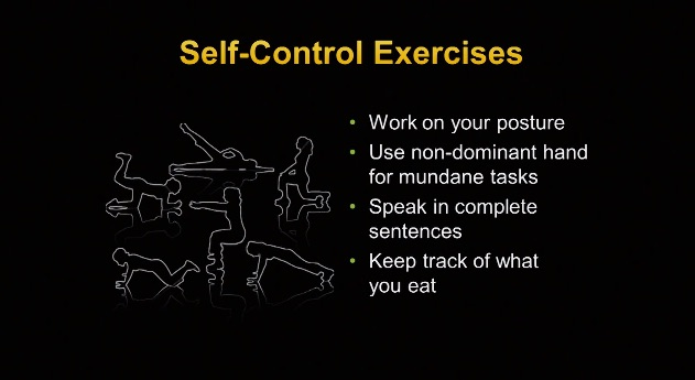 Brad Bushman at TEDxColumbus: Self-control exercises